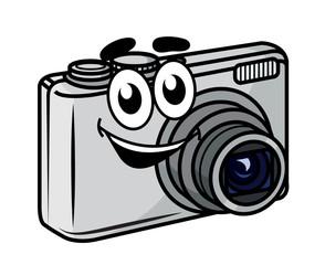 Cute little cartoon compact camera