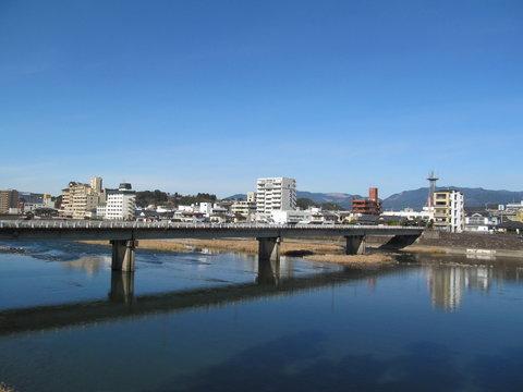 球磨川と橋