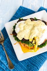 Mushroom Eggs Benedict