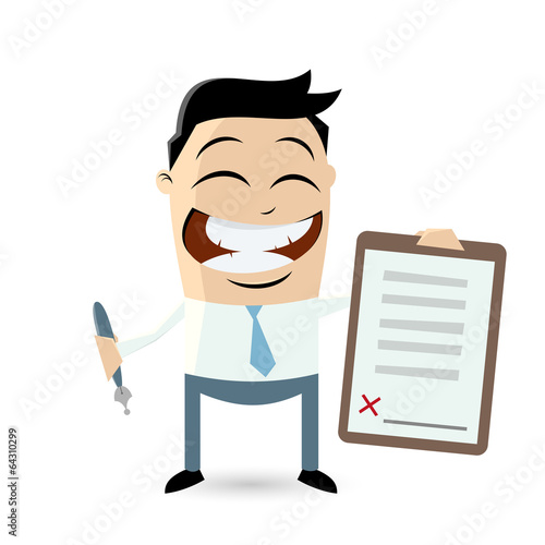 vertrag business unterschrift mann\