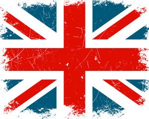 Vector Illustration of the United Kingdom Flag