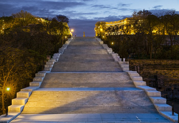 Potemkin Stairs in Odessa Ukraine