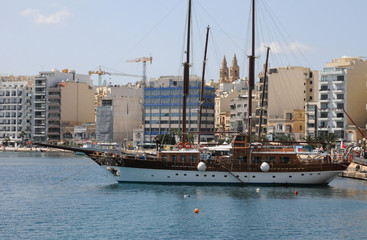 Malta, the picturesque city of Sliema