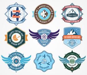 Exploration badges