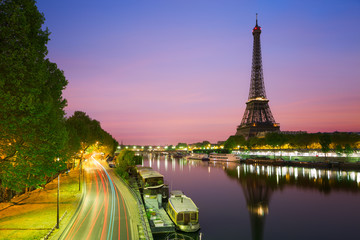 Canvas Print - Tour Eiffel, Paris, France