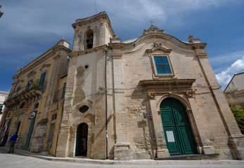 Ragusa Ibla Chiesa della Maddalena