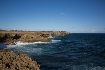 Cape north point on the island of Barbados