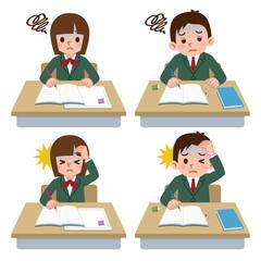 体調不良の学生