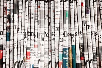 collezione di quotidiani