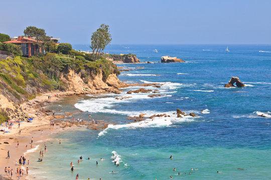 Little Corona Del Mar Beach - Newport Beach, California