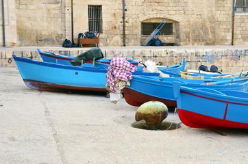 Fishing Village Apulia Monopoli - Italy