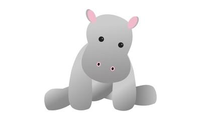 Baby Hippo Toy