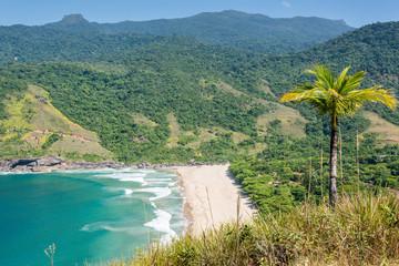 Beautiful view of Ilhabela tropical Island, Rio do janerio, Sao