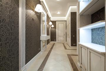Interior of designer corridor