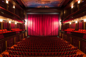 theater interior Fototapete