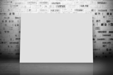 Composite image of white card