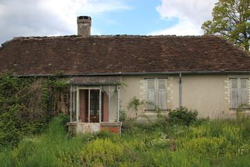 Maison abandonnée.