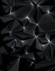 Abstract technology concept futuristic black background