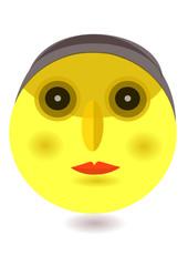 sarı yüz ifadesi