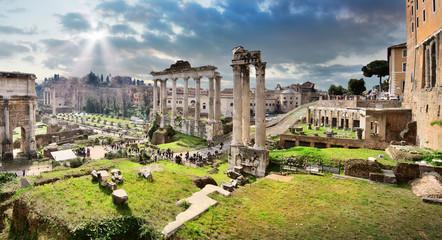 Poster Rome Roman Forum, Rome