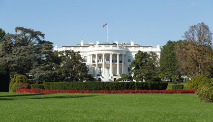 Washington, DC - White House back yard on a Summer day