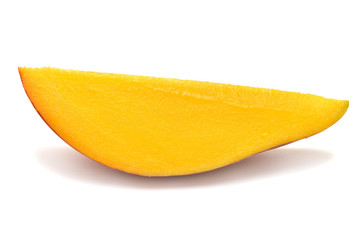 A piece of mango