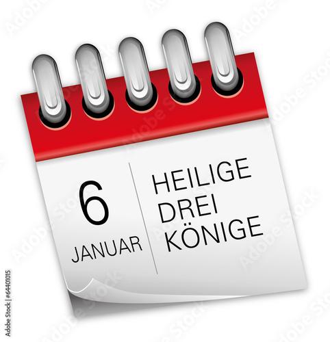 Feiertag 6 Januar