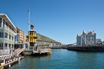 Foto auf AluDibond Schiff Cape Town Waterfront, South Africa