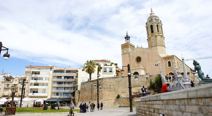 Iglesia de sant Bartomeu y Santa Tecla en Sitges