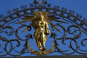 Dettaglio ingresso Cancello Chiesa Stoccolma