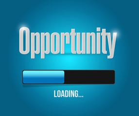 opportunity loading concept illustration design