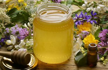 Honig Miele Millefiori Wildflower honey Miód Мёд Honung