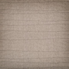 Linen background with thread