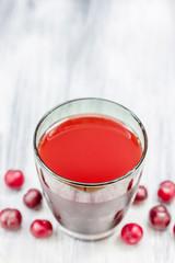 Fresh juice of sweet cherries