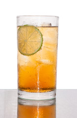 ice lemon tea soda