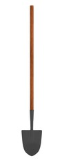 realistic 3d render of spade