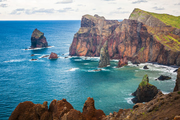 Ponta de Sao Lourenco,the easternmost part of Madeira Island