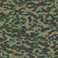 Modern russian digital seamless vector camo