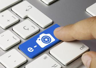 e-photo. Keyboard