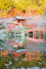 Spoed Foto op Canvas Zen Daigoji Temple Kyoto