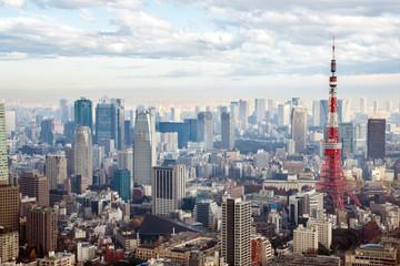 Foto op Aluminium Tokyo Tokyo Tower