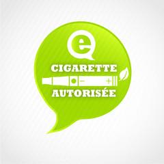 e-cigarette autorisée