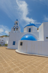 Fototapete - Greece Santorini Church in Oia
