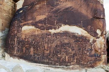 Rochester Rock Art Panel, Utah
