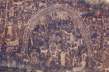 Rochester Rock Art Panel, Utah