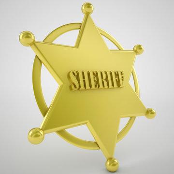 sherrif badge