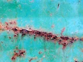 rusty corrugated iron texture