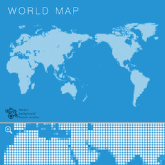 World Map #Vector Illustration