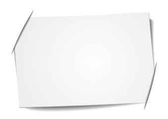 blank label Fotobehang