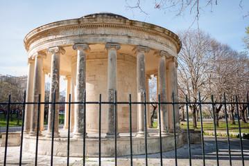 monument in Corfu city